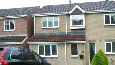 Two Storey Extension with Conservatory Base Builders in Chesterfield