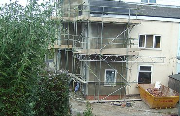 Three Storey Extension Builders in Chesterfield