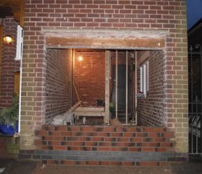 Integral Garage Conversion Builders in Chesterfield