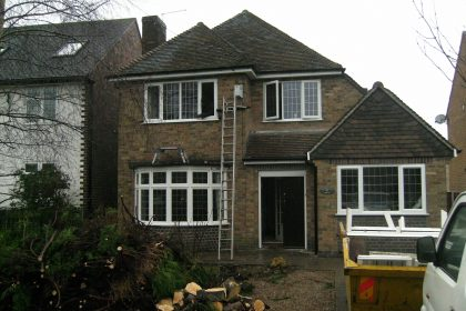 Garage conversion builders in Chesterfield